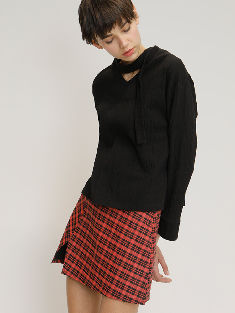 SCOTT SKIRT_RED