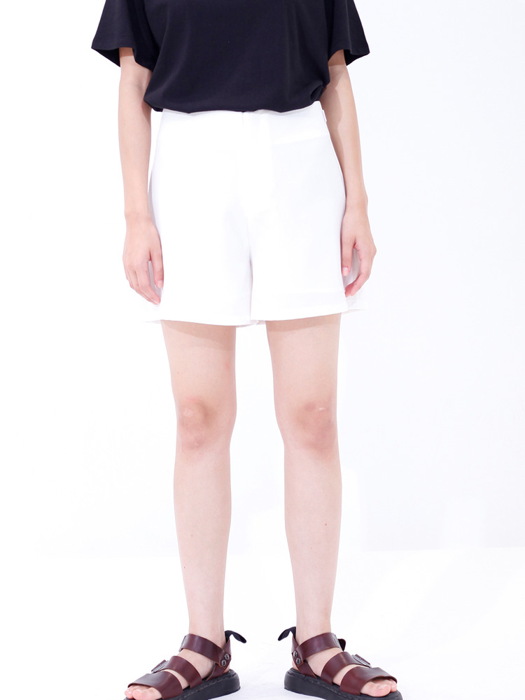 BLOOP SHORTS_WHITE