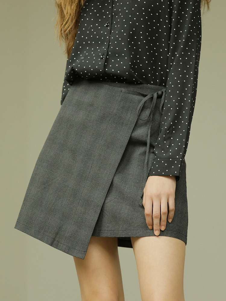 NOW SKIRT_black