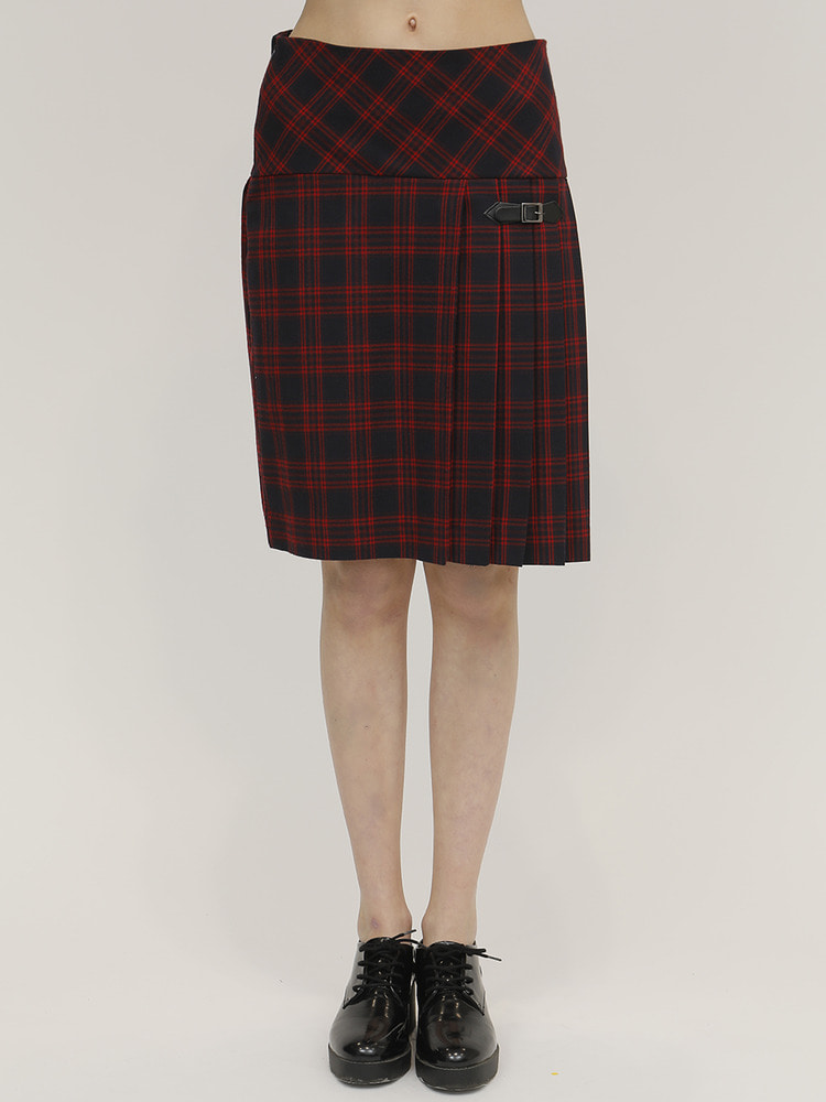 OASIS SKIRT_RED