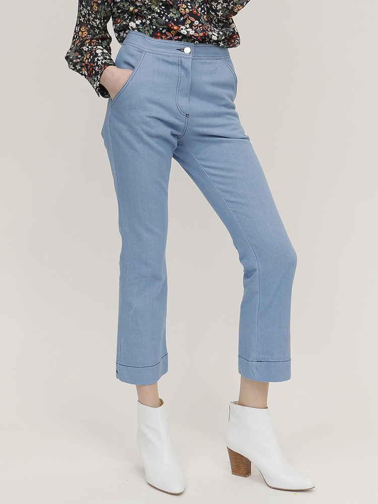 LITTLE DENIM PANTS_SKY BLUE
