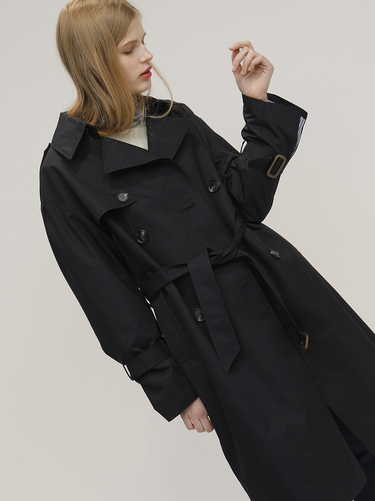 THING TRENCH COAT_NAVY