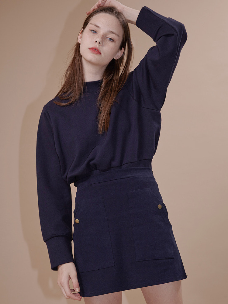 VIDEO SWEATSHIRT_NAVY