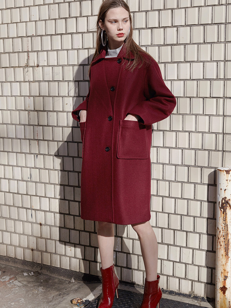 YORK DOUBLE COAT_wine