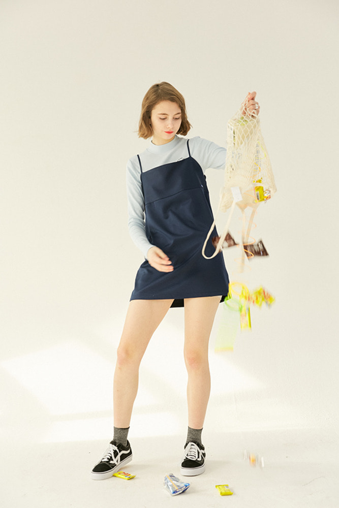 AGORA MINI DRESS_navy