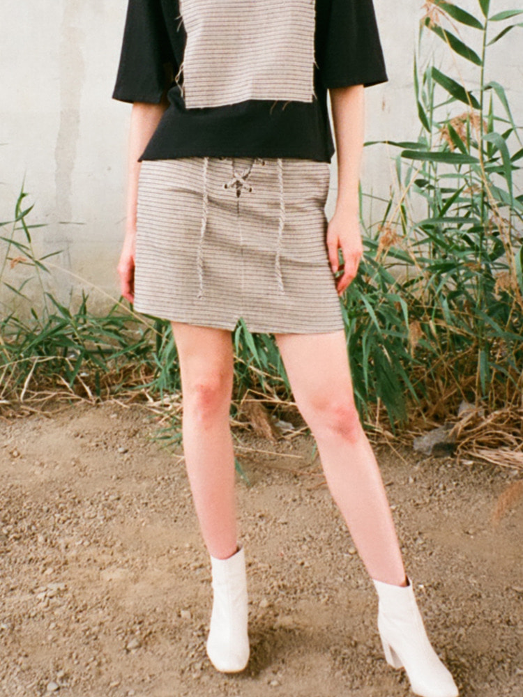ROOM SKIRT_BEIGE