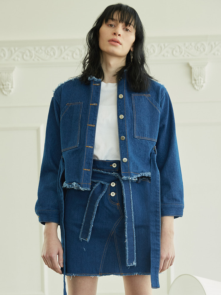 LITHUM DENIM JACKET_blue