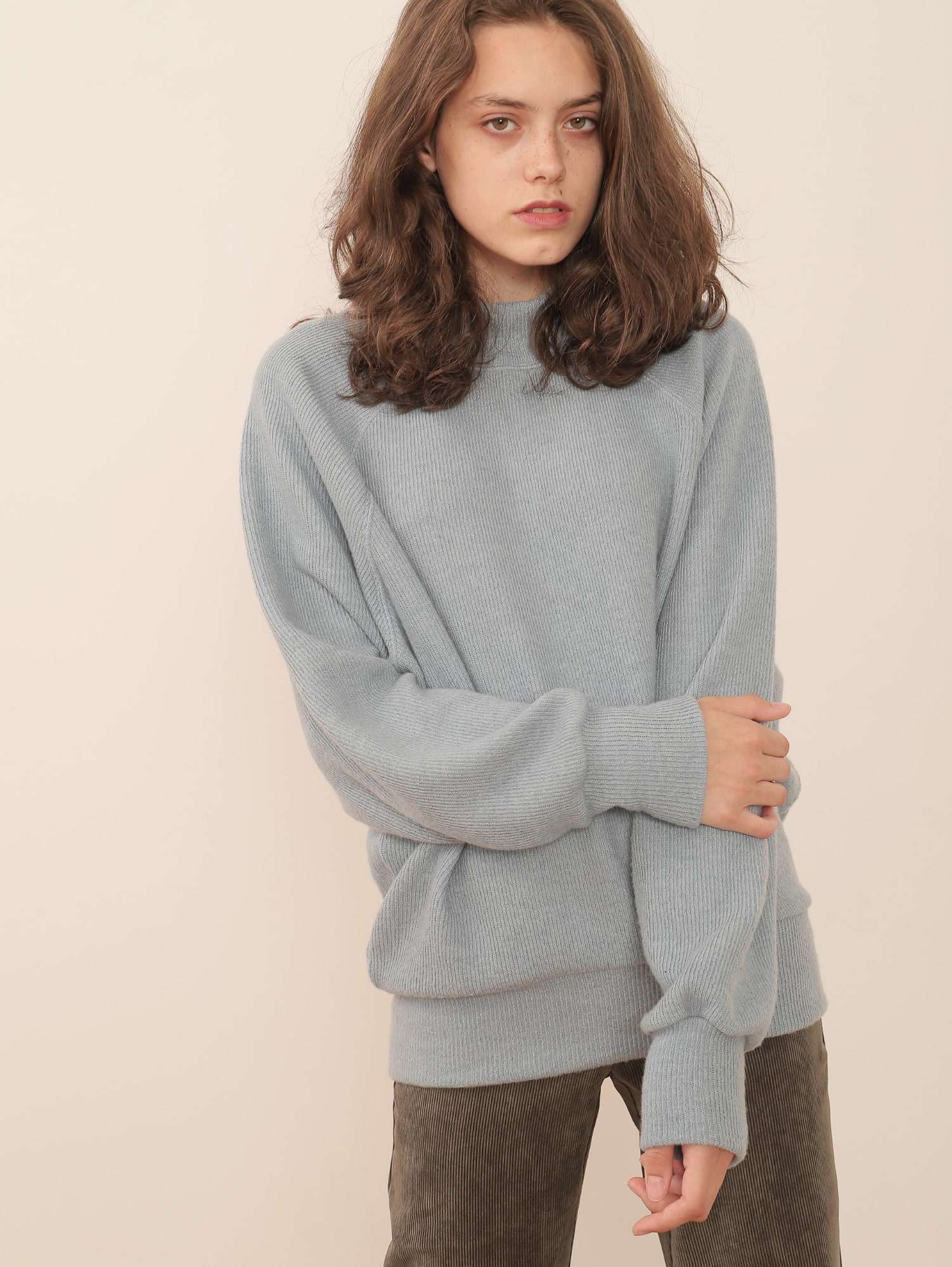 SOURCE OVERSIZED PULLOVER