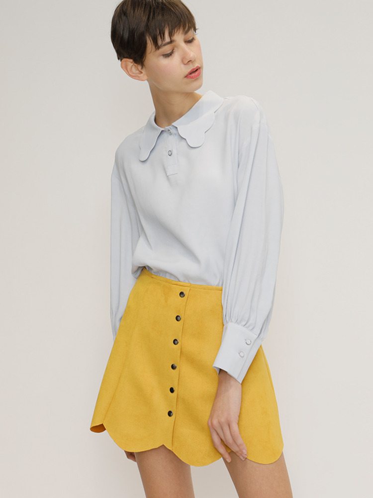 SINCE SKIRT_YELLOW