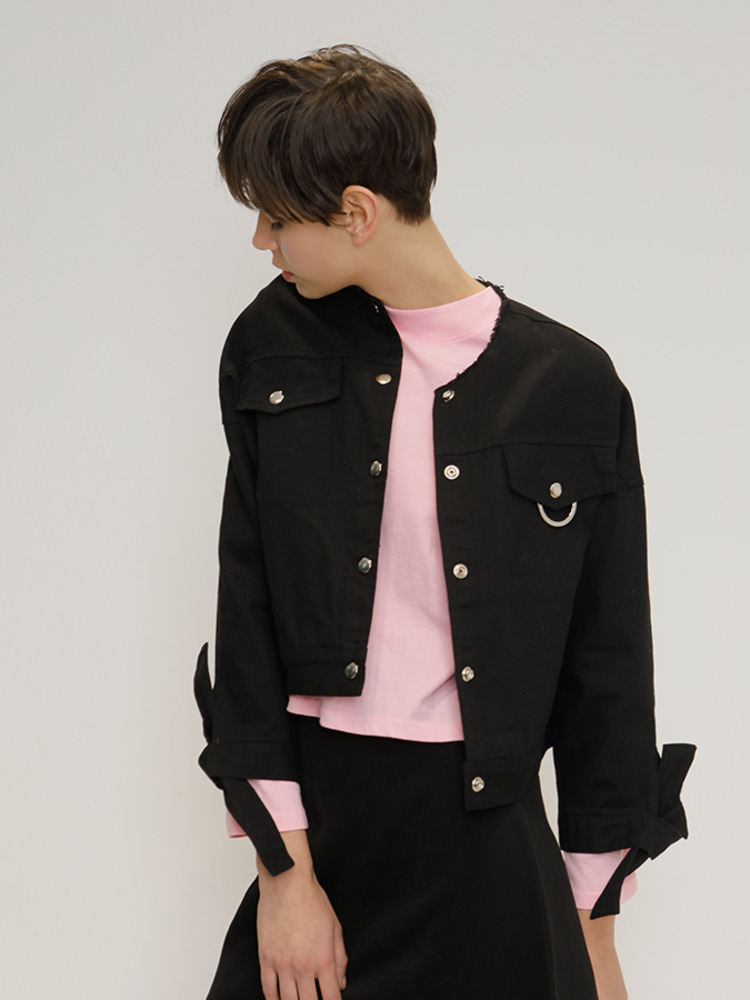 RING RING JACKET_BLACK