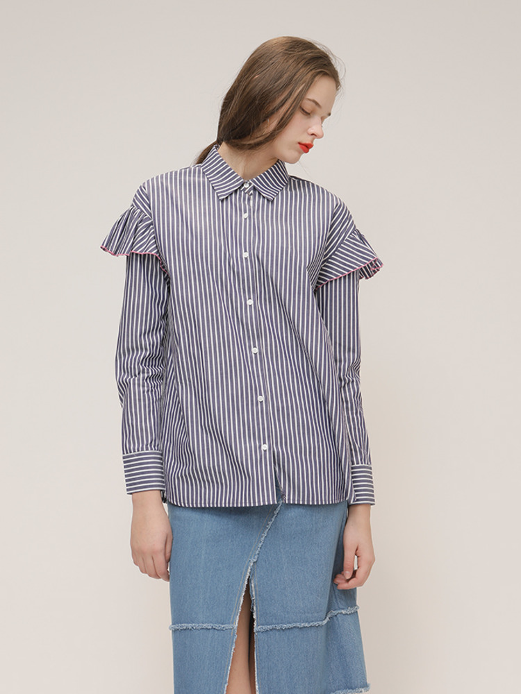 BELLE SHIRT_NAVY