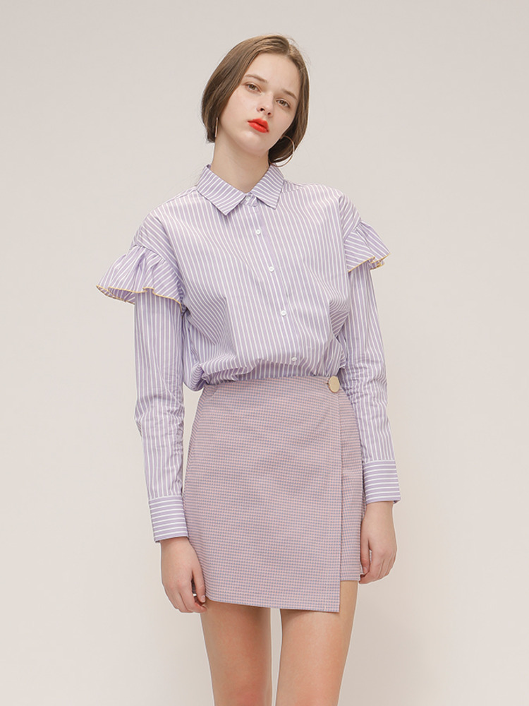 BELLE SHIRT_LIGHT PURPLE