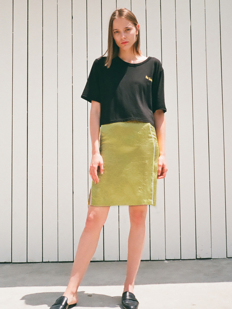 CAFRI SKIRT_YELLOW