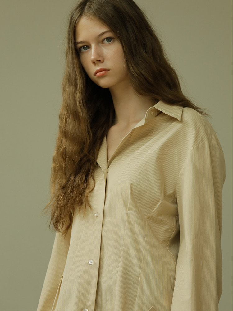 ABOUT SHIRT_beige