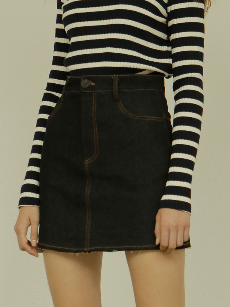 LIKE SKIRT_black