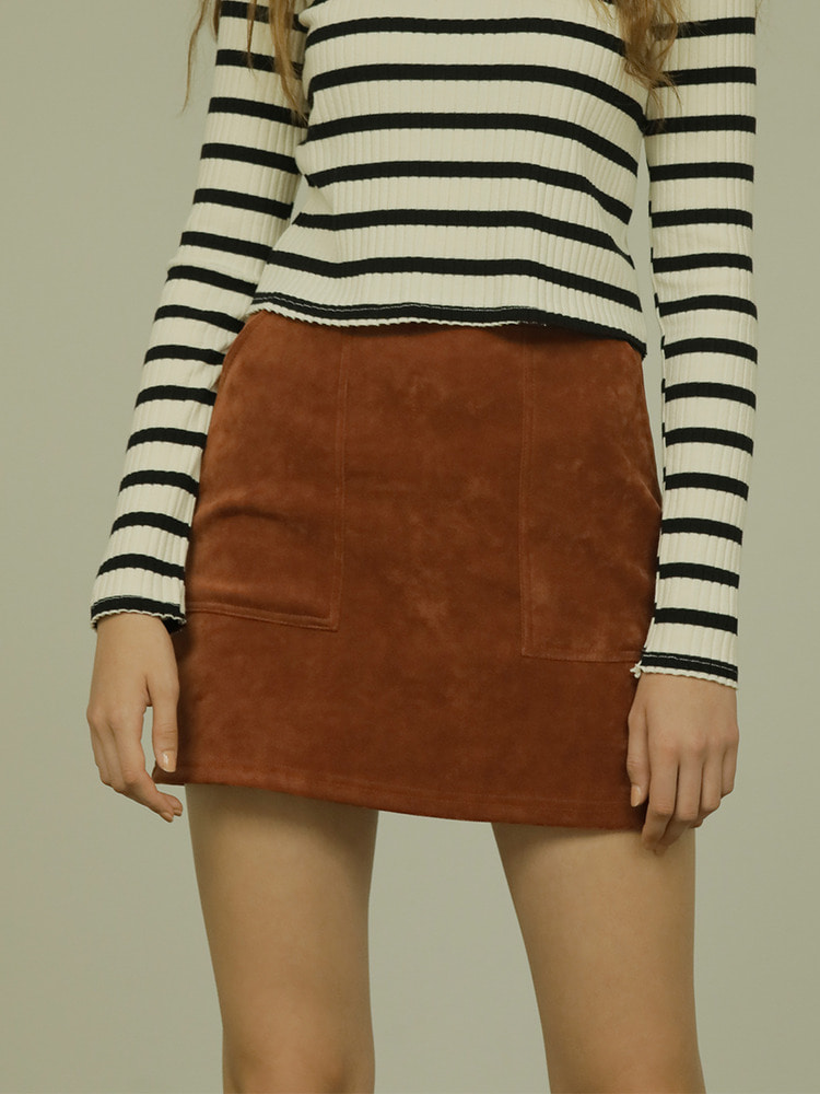 CALL SKIRT_brown