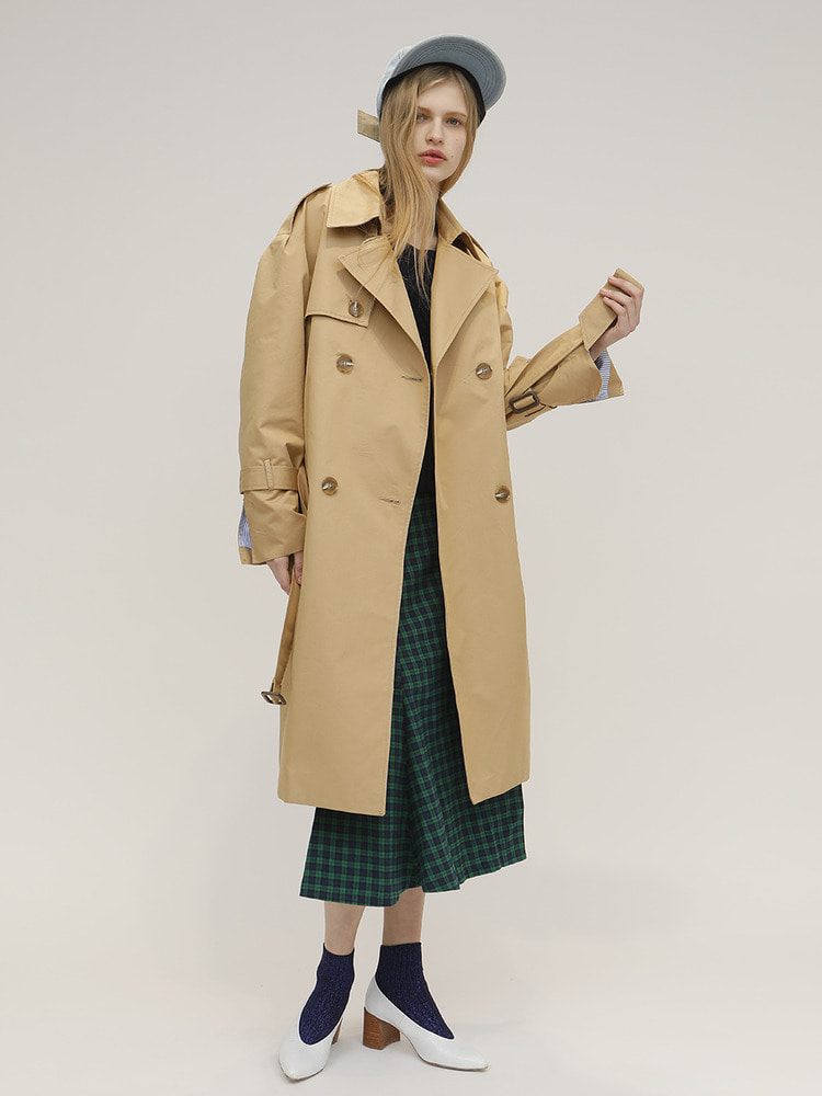 THING TRENCH COAT_BEIGE