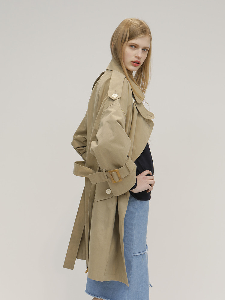 BRUNCH TRENCH_BEIGE