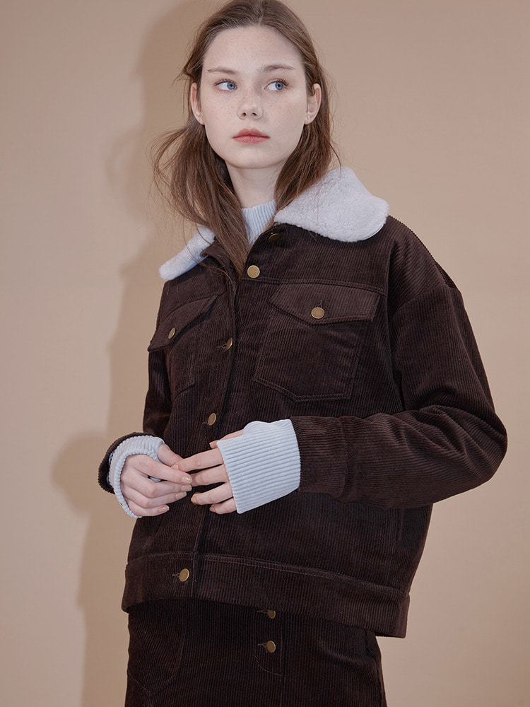 NOTION JACKET_brown