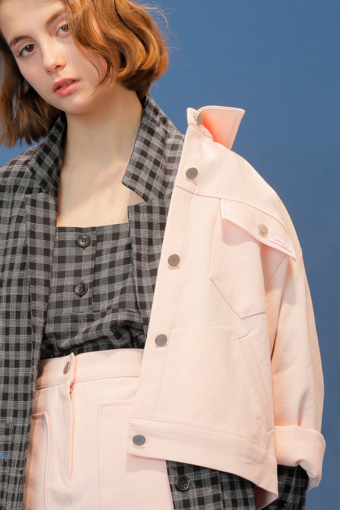 CRACKER JACKET_pink