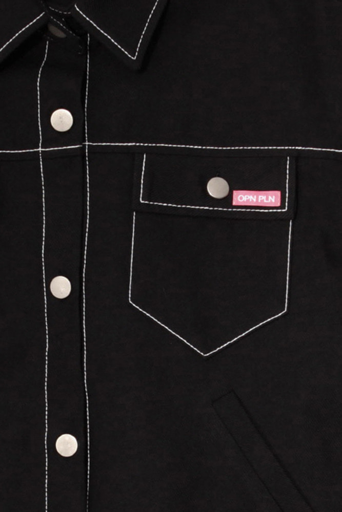 CRACKER JACKET_black