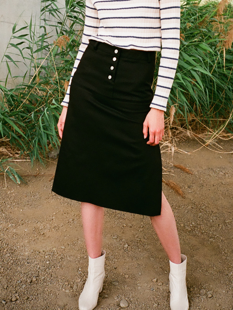 FEATURING SKIRT_BLACK