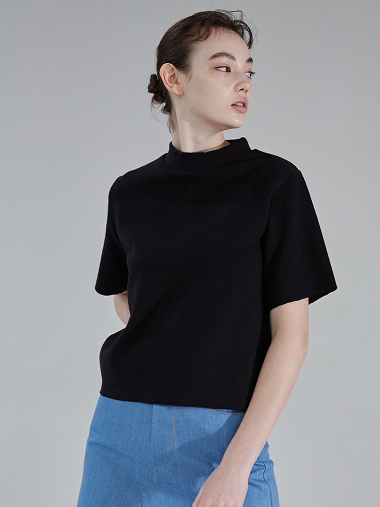 RAWING GRAPHIC TOP_black