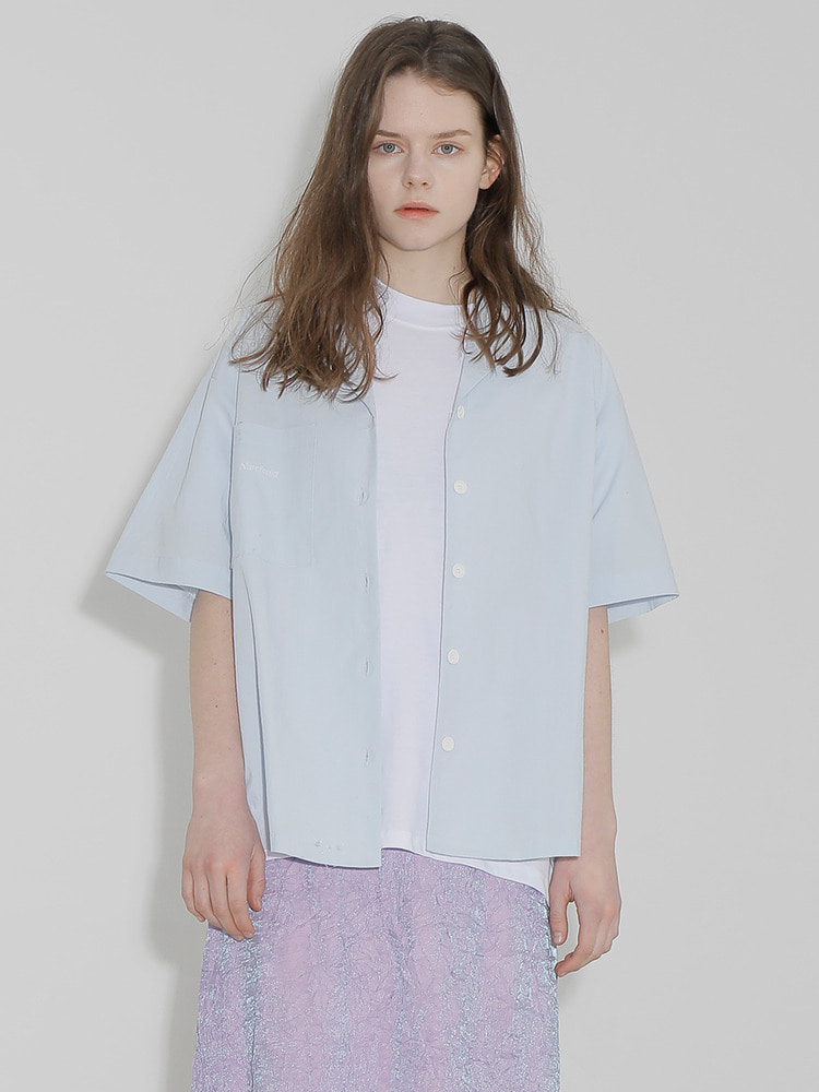 RADIO SQUARE SHIRT_light blue