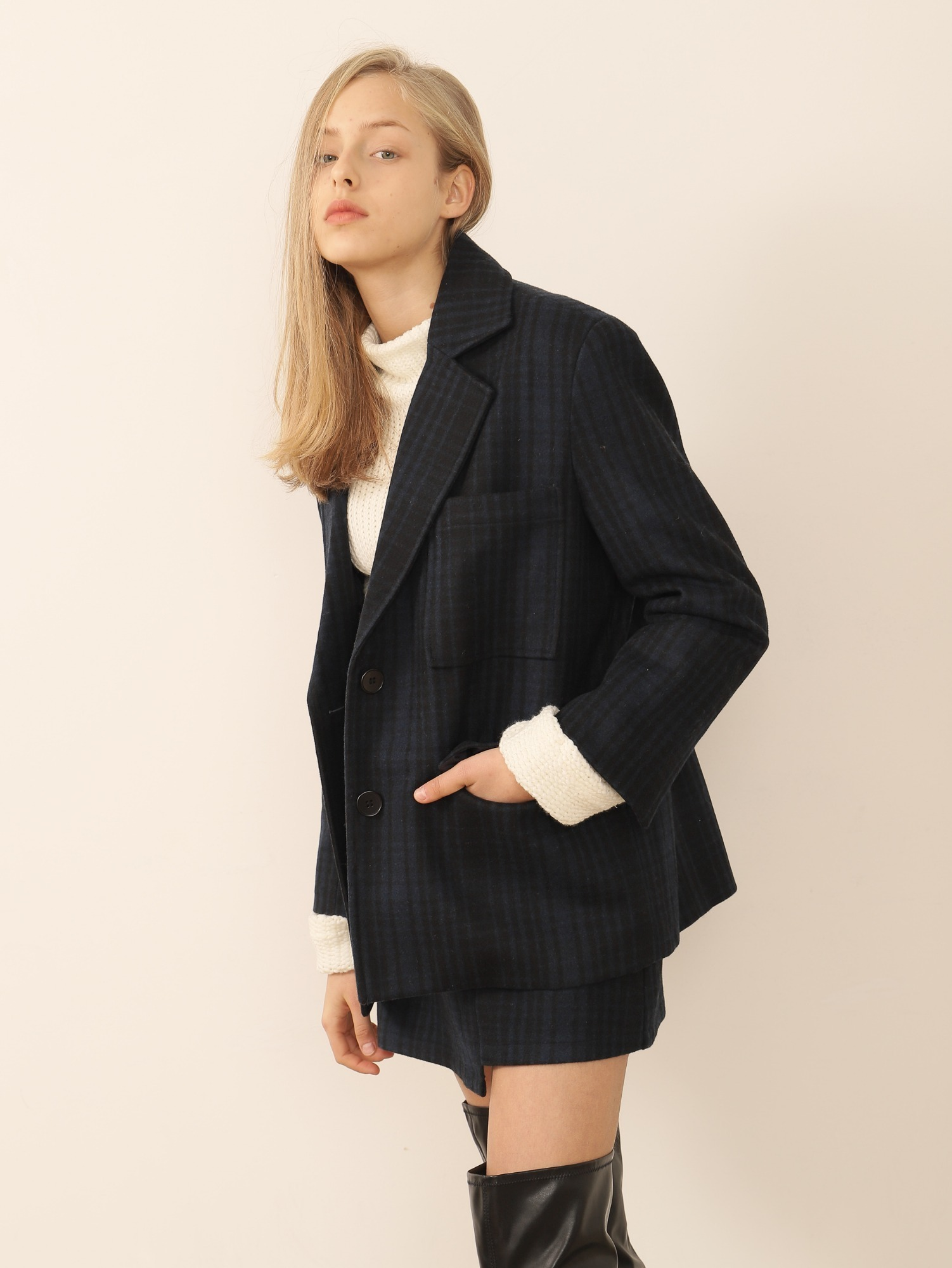 KNOWN CHECK JACKET